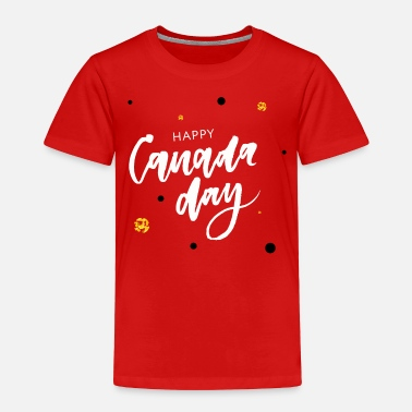 Canada Happy Canada Day - Toddler Premium T-Shirt
