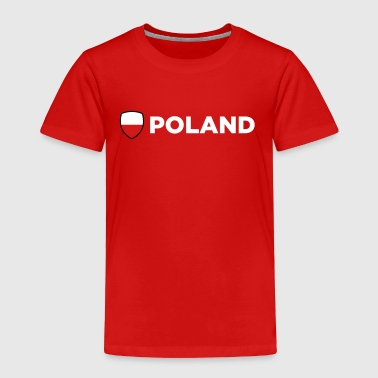 National Flag Of Poland - Toddler Premium T-Shirt