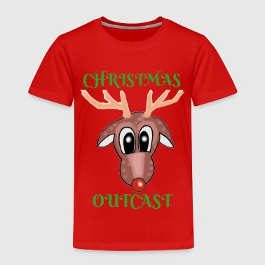 Flying Reindeer Reindeer - Toddler Premium T-Shirt