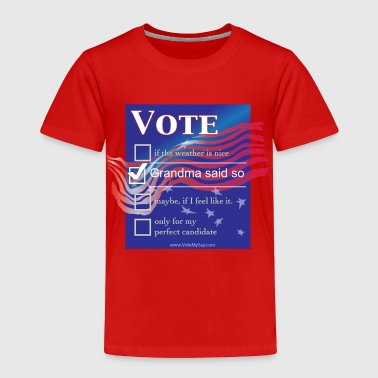 Vote My Say Stars'N'Stripes Choice - Toddler Premium T-Shirt