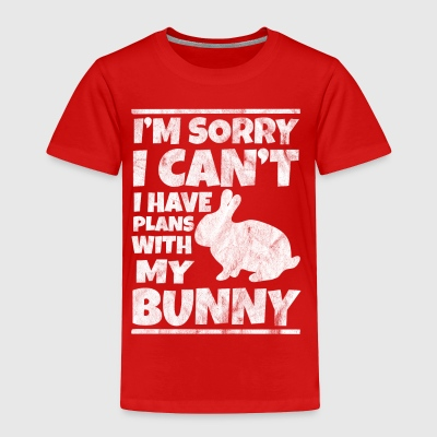 Shirt for bunny lovers as a gift - Toddler Premium T-Shirt