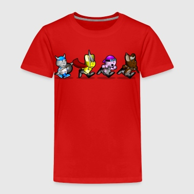 Running Bunnies - Toddler Premium T-Shirt