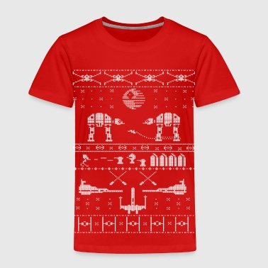 Star Wars X-Mas Sweater Satire - Toddler Premium T-Shirt