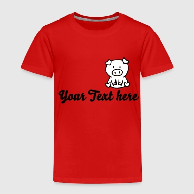 pig - Toddler Premium T-Shirt
