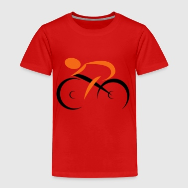 cycling - Toddler Premium T-Shirt