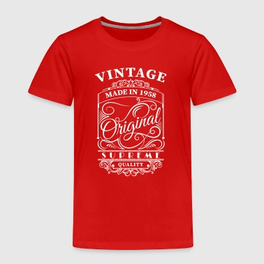 Vintage made in 1958 - Toddler Premium T-Shirt