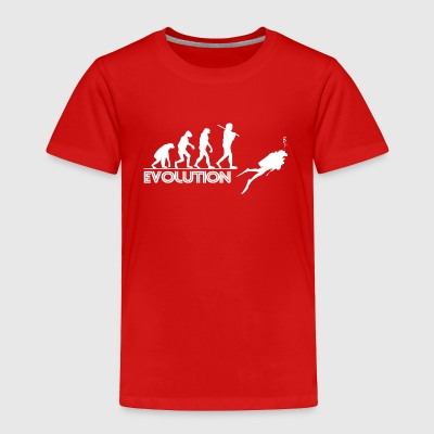 Scuba evolution 01 - Toddler Premium T-Shirt