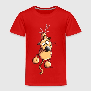 Sporty Cat - Toddler Premium T-Shirt