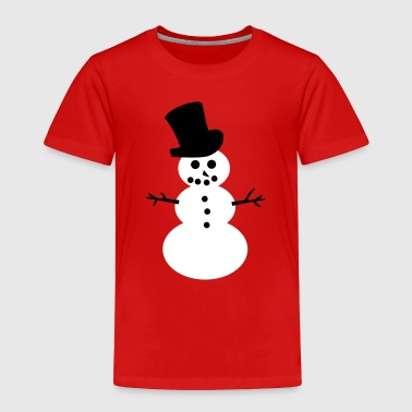 Snowman - Toddler Premium T-Shirt