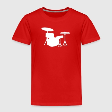 Drums Drummer - Toddler Premium T-Shirt