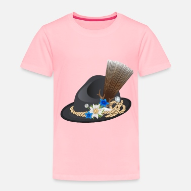 Jewelry great traditional hat for men with chamois beard - Toddler Premium T-Shirt