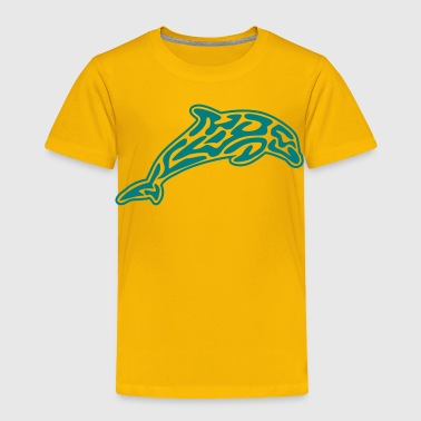animals: tribal-dolphin - Toddler Premium T-Shirt