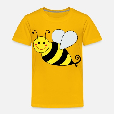 Bee Cute Bumble Bee - Toddler Premium T-Shirt