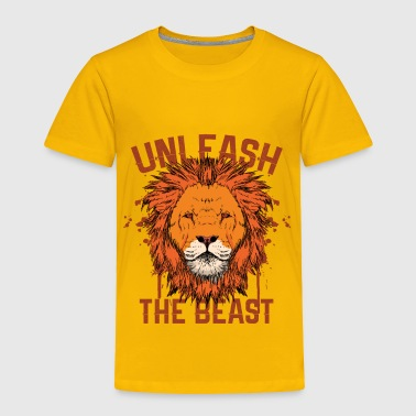Brave Lion Lion - Be Brave - Toddler Premium T-Shirt