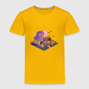 Happy Halloween pixel art - Toddler Premium T-Shirt