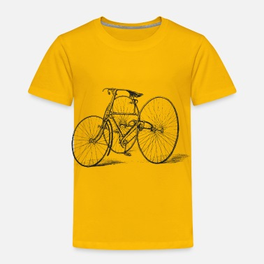 Tricycle Antique Tricycle - Toddler Premium T-Shirt