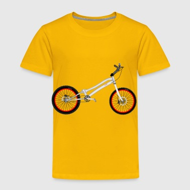 Bike Trial Bike - Toddler Premium T-Shirt