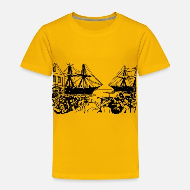 Tea Boston Tea Party - Toddler Premium T-Shirt