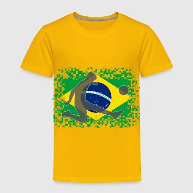 Brazilian Brazil Football Soccer 2018 - Toddler Premium T-Shirt