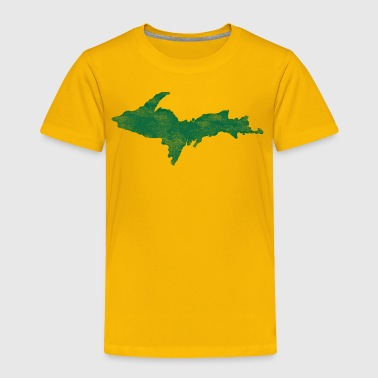 Distressed Vintage Upper Peninsula U.P. Shirts Tee - Toddler Premium T-Shirt