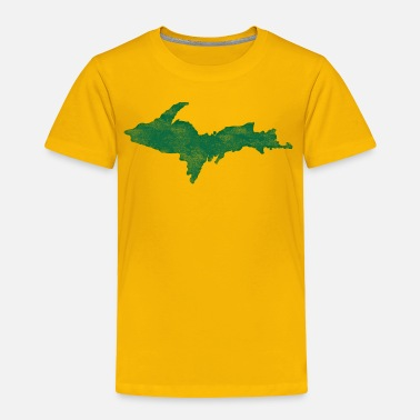 Upper Peninsula Distressed Vintage Upper Peninsula U.P. Shirts Tee - Toddler Premium T-Shirt