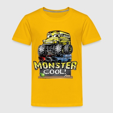 Monster Kids Bus - Toddler Premium T-Shirt