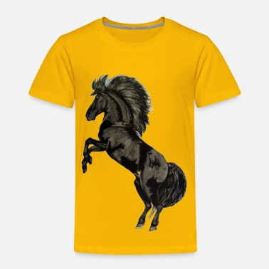 Stallion Black Stallion - Toddler Premium T-Shirt