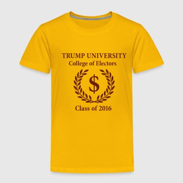 Trump University Elections - Toddler Premium T-Shirt