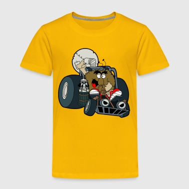 Murky and Lurky Cruise Round In Their Doom Buggy - Toddler Premium T-Shirt