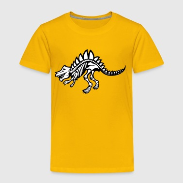 Dinosaur Skeleton - Toddler Premium T-Shirt