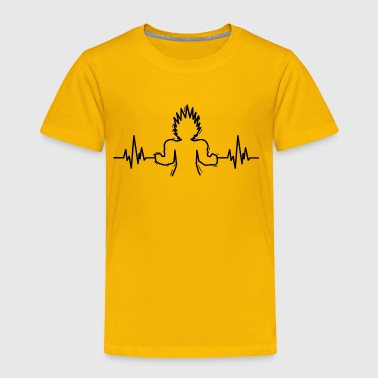 saiyan heartbeat - Toddler Premium T-Shirt