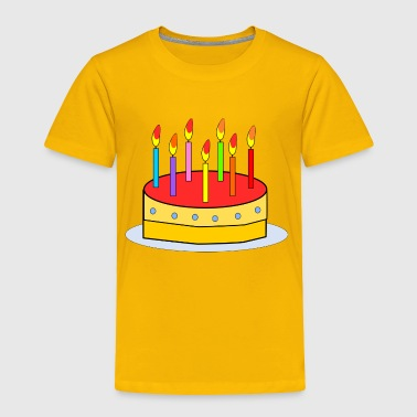 Kid Birthday Cake - Toddler Premium T-Shirt