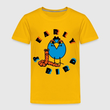 Sesame Street Family Early & Bird 3C - Toddler Premium T-Shirt