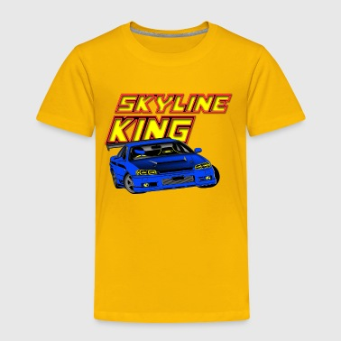 SKYLINE KING - Toddler Premium T-Shirt