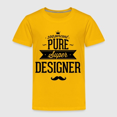 100 percent pure super designer - Toddler Premium T-Shirt