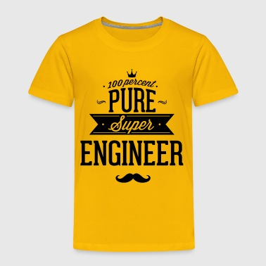 100 percent pure super engineer - Toddler Premium T-Shirt