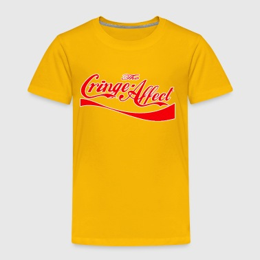 Cringe Cola Mash-Up Red - Toddler Premium T-Shirt