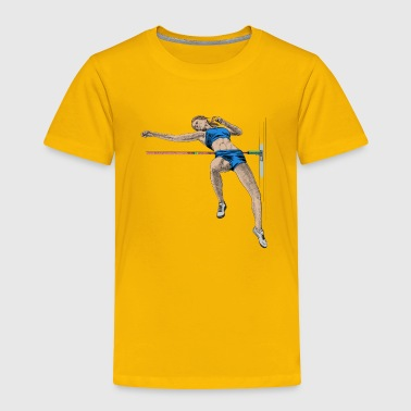 high jump - Toddler Premium T-Shirt