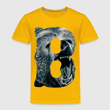 A Big Bruin B - Toddler Premium T-Shirt