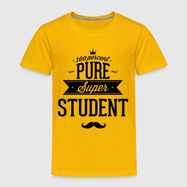 100 percent pure super student - Toddler Premium T-Shirt