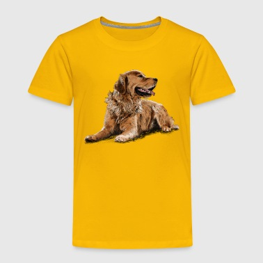 Golden Retriever - Toddler Premium T-Shirt