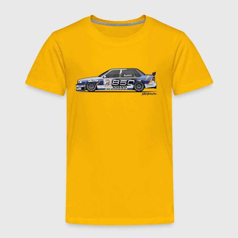 Volvo 850 Saloon TWR BTCC Super Touring Car - Toddler Premium T-Shirt