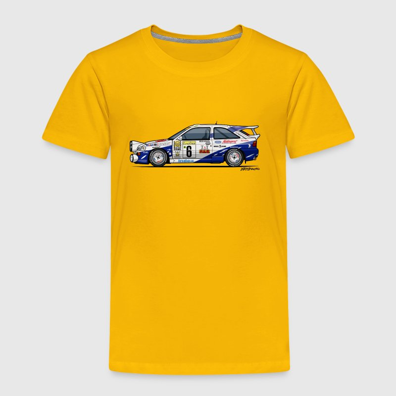 Ford Escort RS Cosworth Rally Monte Carlo - Toddler Premium T-Shirt