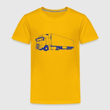 truck / lorry (1 color) - Toddler Premium T-Shirt