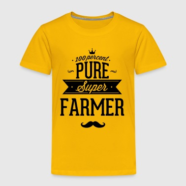 Farmer 100 percent pure super farmer - Toddler Premium T-Shirt