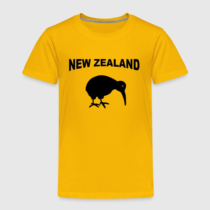 New Zealand - Kiwi - Toddler Premium T-Shirt