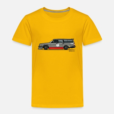 Logo 245 Wagon Track Car - Toddler Premium T-Shirt