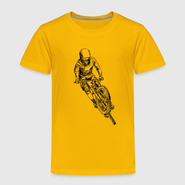mountain bike cross - Toddler Premium T-Shirt