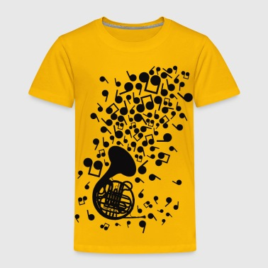Instrument Horn_Music - Toddler Premium T-Shirt
