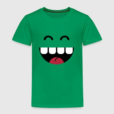 cute monster teeth - Toddler Premium T-Shirt